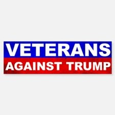 Veterans Against Trump Bumper Bumper Bumper Sticker