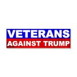 """Veterans against trump 3"""" x 10"""""""