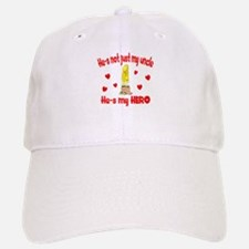 Not just my uncle (hearts) Baseball Baseball Cap
