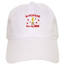 Not just my uncle (hearts) Baseball Cap