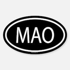 MAO Oval Decal