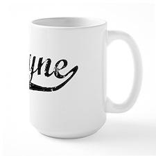 Jasmyne Vintage (Black) Mug
