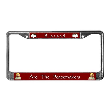 Peacemakers #1 License Plate Frame