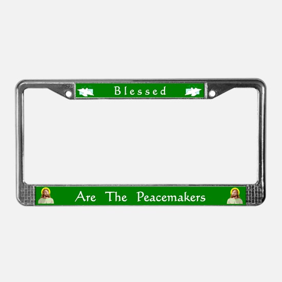 Peacemakers #2 License Plate Frame