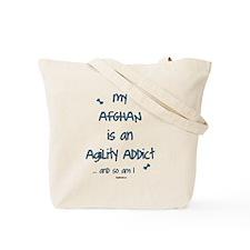 Afghan Agility Addict Tote Bag
