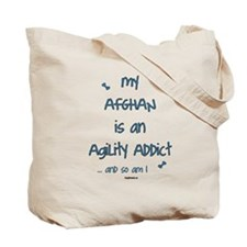 Afghan Agility Addict Tote Bag