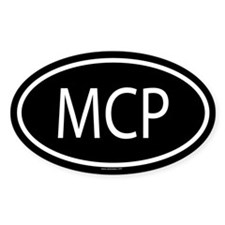 MCP Oval Decal