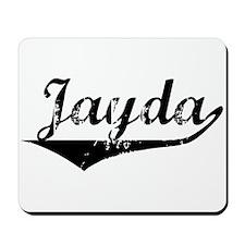 Jayda Vintage (Black) Mousepad