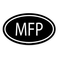 MFP Oval Decal