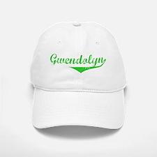 Gwendolyn Vintage (Green) Baseball Baseball Cap