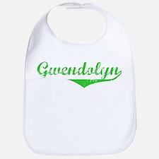 Gwendolyn Vintage (Green) Bib