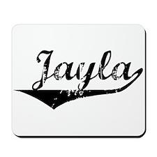 Jayla Vintage (Black) Mousepad