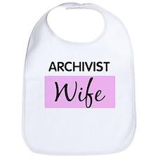 ARCHIVIST Wife Bib