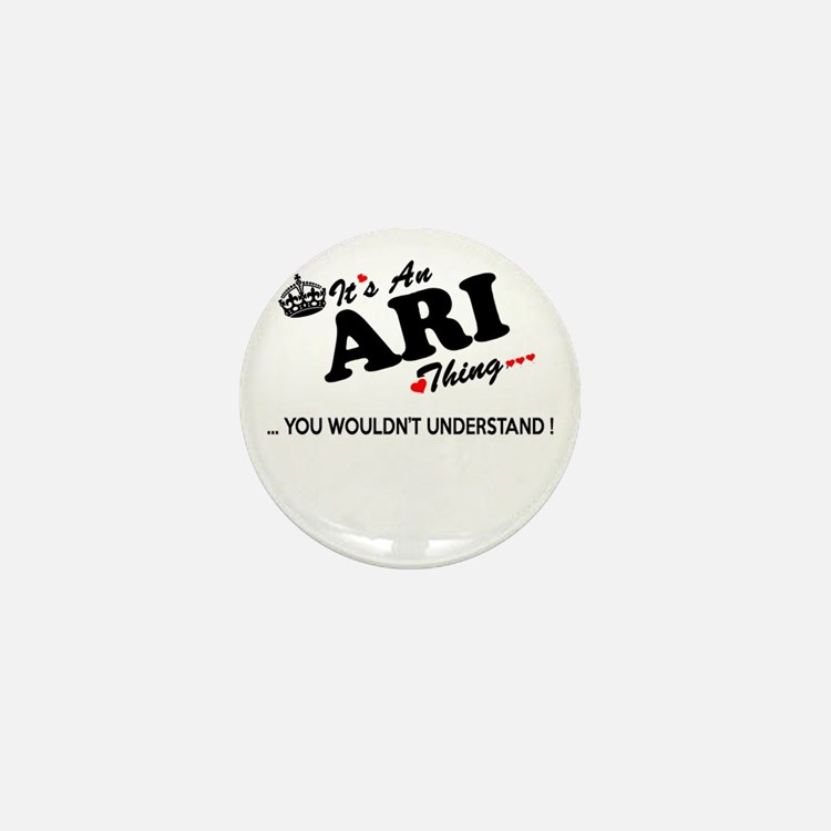 Cute Ari Mini Button