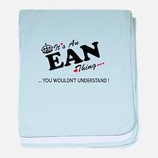 Unique Ean baby blanket