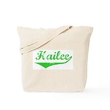Hailee Vintage (Green) Tote Bag
