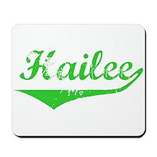 Hailee Vintage (Green) Mousepad