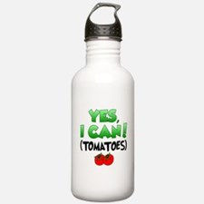 Yes I Can Tomatoes Water Bottle