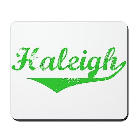 Haleigh Vintage (Green) Mousepad