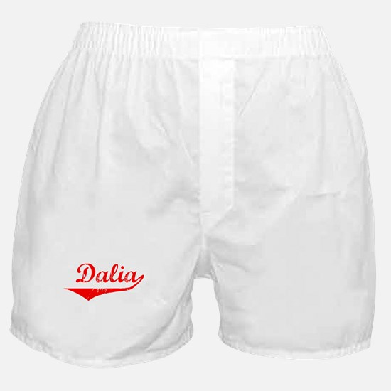 Dalia Vintage (Red) Boxer Shorts