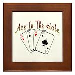 Ace Hole Framed Tile