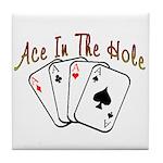 Ace Hole Tile Coaster