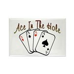 Ace Hole Rectangle Magnet (10 pack)