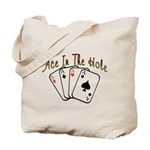 Ace Hole Tote Bag