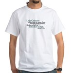 Distinction of Rank White T-Shirt