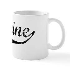 Jazmine Vintage (Black) Coffee Mug