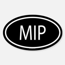 MIP Oval Decal