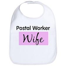 Postal Worker Wife Bib