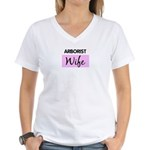 ARBORIST Wife Women's V-Neck T-Shirt