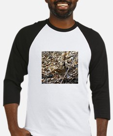 Camoflaged Ruffed Grouse Baseball Jersey