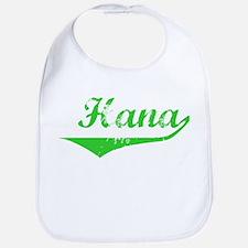 Hana Vintage (Green) Bib