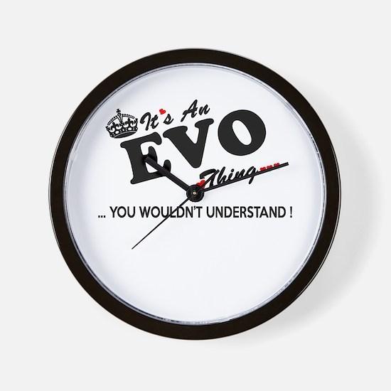 Cute Evo Wall Clock