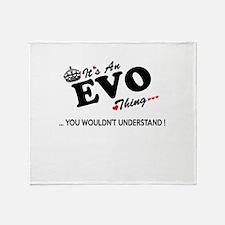 Cute Evo Throw Blanket