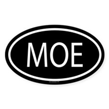 MOE Oval Decal