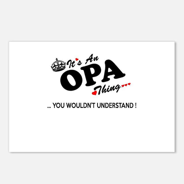 Cute Opa Postcards (Package of 8)