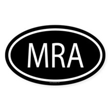 MRA Oval Decal