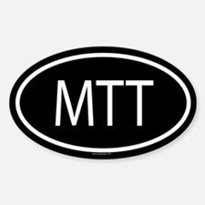 MTT Oval Decal