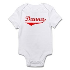 Danna Vintage (Red) Infant Bodysuit