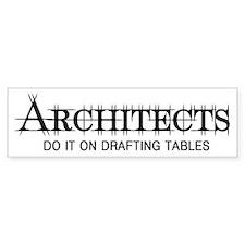 Architect Bumper Bumper Stickers