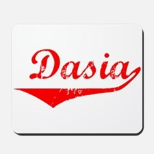 Dasia Vintage (Red) Mousepad