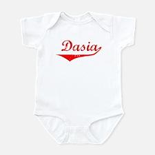 Dasia Vintage (Red) Infant Bodysuit