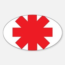 Red Hot Chili Peppers Astersisk Decal