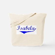 Isabela Vintage (Blue) Tote Bag