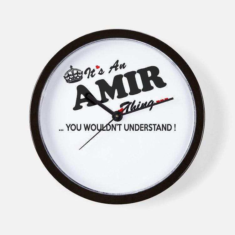 Cute Amir Wall Clock