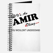 Cute Amir Journal