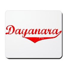 Dayanara Vintage (Red) Mousepad
